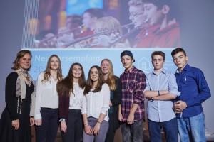 """3. Preis für die """"Wilhelmsburger Erfinderinnen"""" der Katholischen Bonifatiusschule"""