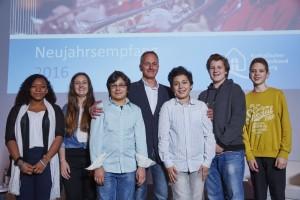 """2. Preis für das Projekt """"Vitalisierung des Seevekanals"""" der Katholischen Schule Harburg"""